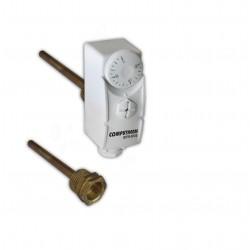 Termostat s jímkou WPR-90GE